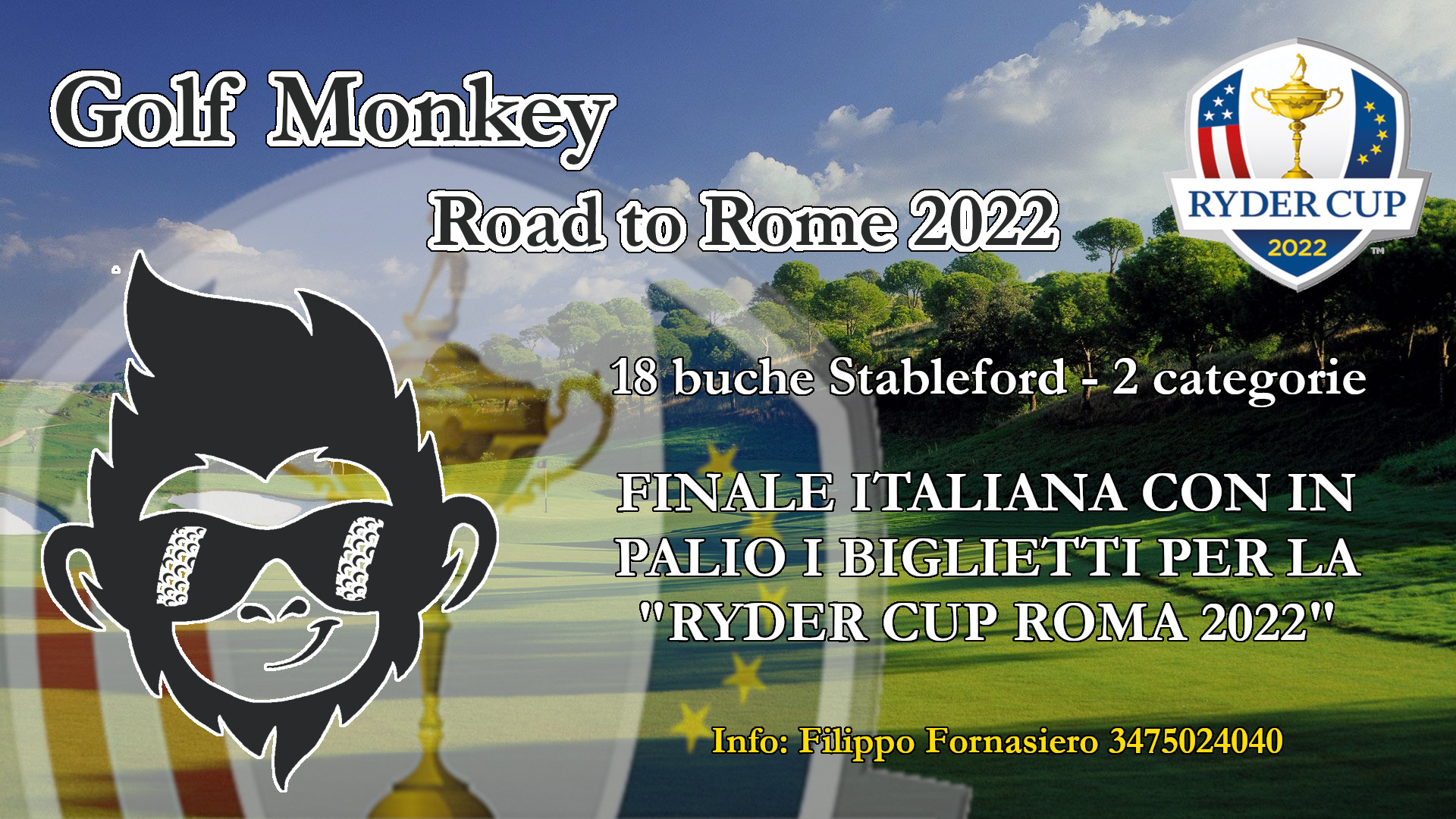 Locandina Golf Monkey Road to Ryder