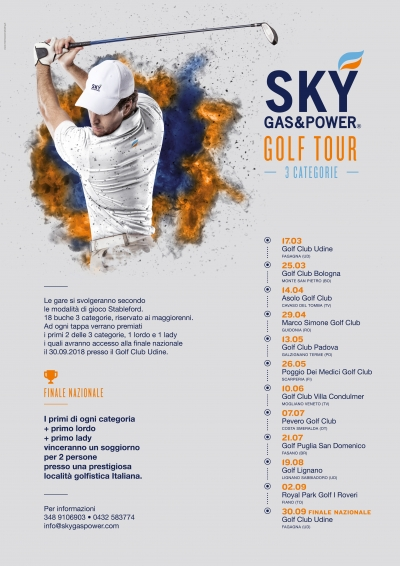 SKY GAS & POWER GOLF TOUR