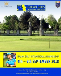 italian girls' international championship 2018
