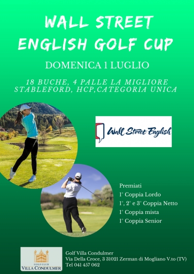 WALL STREET ENGLISH GOLF CUP